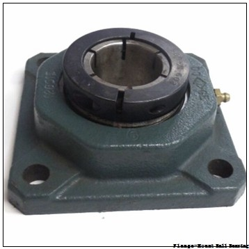 1.4375 in x 4.2500 in x 3.2500 in  Sealmaster CRBFBS-PN23T Flange-Mount Ball Bearing