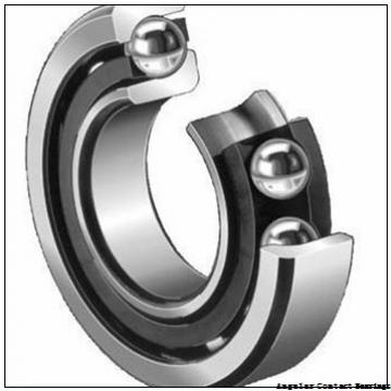 40 mm x 80 mm x 1.1875 in  NSK 3208 Angular Contact Bearings