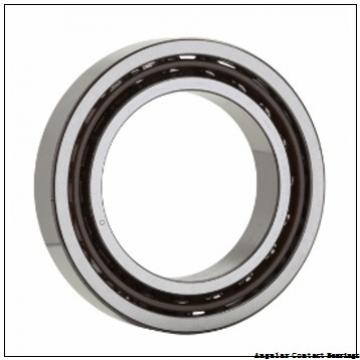 75 mm x 130 mm x 25 mm  Timken 7215WN Angular Contact Bearings