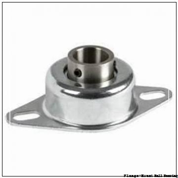 75 mm x 152.4 mm x 196.9 mm  Dodge F4BSC75M Flange-Mount Ball Bearing