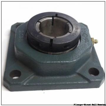 1.2500 in x 3.5625 in x 4.8100 in  Dodge F3BSLX104 Flange-Mount Ball Bearing