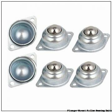 2-15/16 in x 6.8900 in x 9.2500 in  Dodge F4BK215RE Flange-Mount Roller Bearing Units