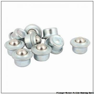 2-3/16 in x 4.8800 in x 6.2500 in  Dodge F4BE203R Flange-Mount Roller Bearing Units