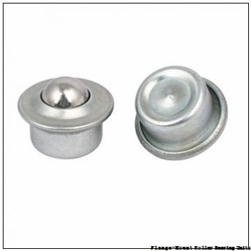 3-7/16 in x 8.1300 in x 11.3800 in  Dodge F4BK307RE Flange-Mount Roller Bearing Units