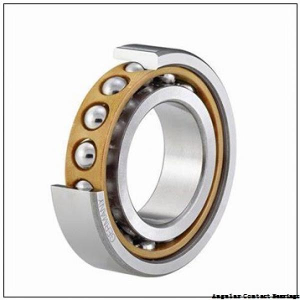 55 mm x 100 mm x 33,3 mm  FAG 3211-BD-2Z-TVH Angular Contact Bearings #3 image