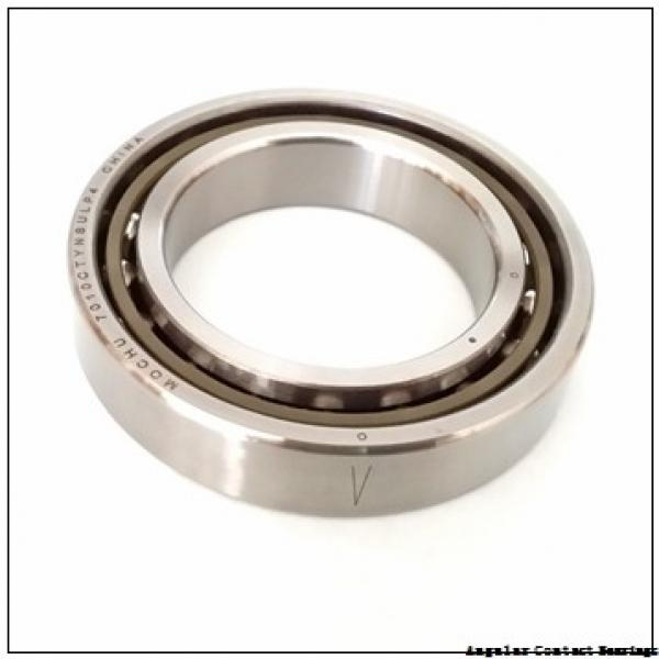 80 mm x 140 mm x 1.0236 in  NSK 7216 BMPC Angular Contact Bearings #1 image